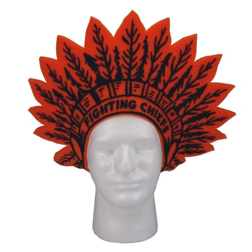 indiam headdress visor
